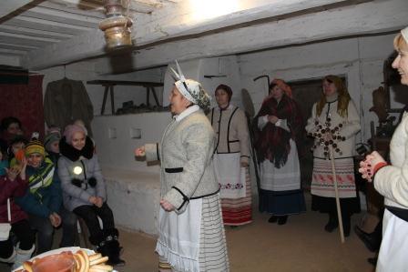 Калядкі ў Гудзевіцкім музеі
