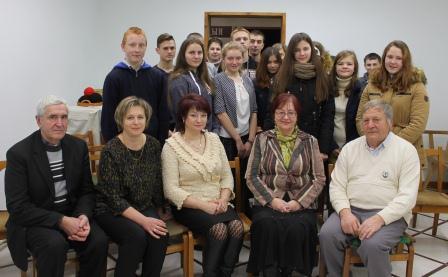 """Гудзевіцкі музей, """"Літаратурная гасцёўня"""" 20.12.2016г."""